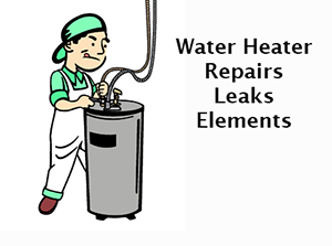 plumber repairing water heater in Keene